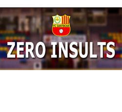 Zero insults