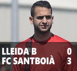 Lleida B 0 Santboià 3